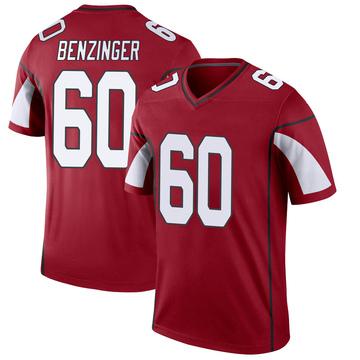 Youth Nike Arizona Cardinals Jake Benzinger Cardinal Jersey - Legend