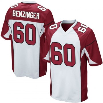 Youth Nike Arizona Cardinals Jake Benzinger White Jersey - Game