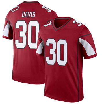 Youth Nike Arizona Cardinals Jalen Davis Cardinal Jersey - Legend