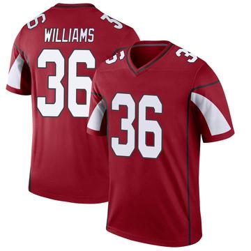 Youth Nike Arizona Cardinals Jarren Williams Cardinal Jersey - Legend