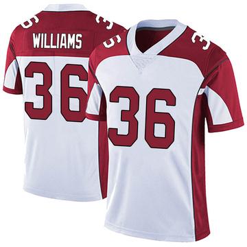 Youth Nike Arizona Cardinals Jarren Williams White Vapor Untouchable Jersey - Limited