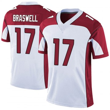 Youth Nike Arizona Cardinals Jermiah Braswell White Vapor Untouchable Jersey - Limited