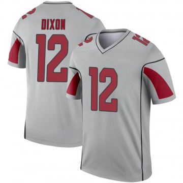 Youth Nike Arizona Cardinals Johnnie Dixon Inverted Silver Jersey - Legend