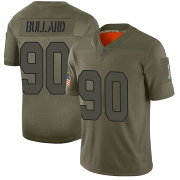 Youth Nike Arizona Cardinals Jonathan Bullard Camo 2019 Salute to Service Jersey - Limited