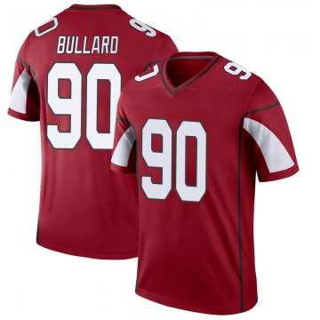Youth Nike Arizona Cardinals Jonathan Bullard Cardinal Jersey - Legend