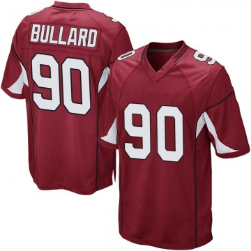 Youth Nike Arizona Cardinals Jonathan Bullard Cardinal Team Color Jersey - Game