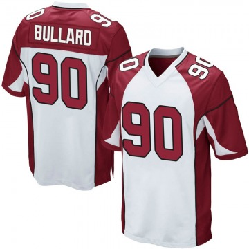 Youth Nike Arizona Cardinals Jonathan Bullard White Jersey - Game