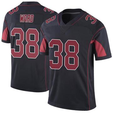 Youth Nike Arizona Cardinals Jonathan Ward Black Color Rush Vapor Untouchable Jersey - Limited