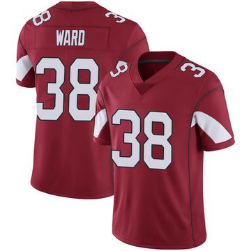 Youth Nike Arizona Cardinals Jonathan Ward Cardinal 100th Vapor Jersey - Limited