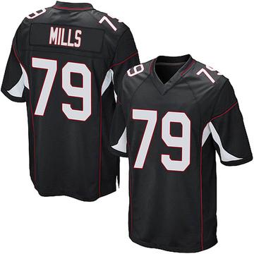 Youth Nike Arizona Cardinals Jordan Mills Black Alternate Jersey - Game