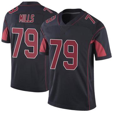 Youth Nike Arizona Cardinals Jordan Mills Black Color Rush Vapor Untouchable Jersey - Limited