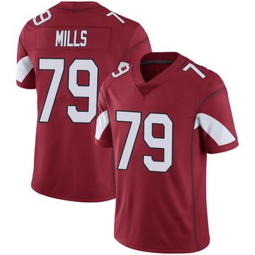 Youth Nike Arizona Cardinals Jordan Mills Cardinal 100th Vapor Jersey - Limited