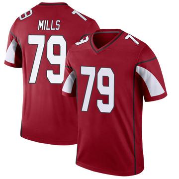 Youth Nike Arizona Cardinals Jordan Mills Cardinal Jersey - Legend