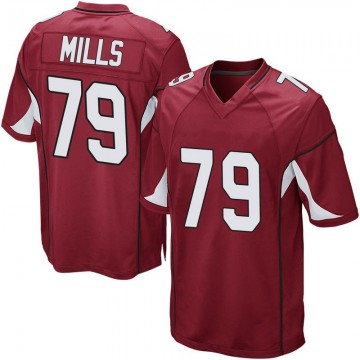 Youth Nike Arizona Cardinals Jordan Mills Cardinal Team Color Jersey - Game