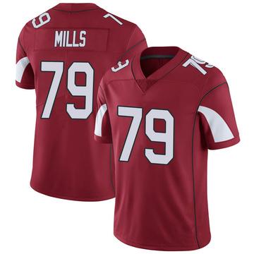 Youth Nike Arizona Cardinals Jordan Mills Cardinal Team Color Vapor Untouchable Jersey - Limited