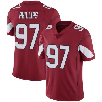 Youth Nike Arizona Cardinals Jordan Phillips Cardinal 100th Vapor Jersey - Limited