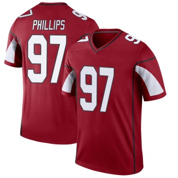 Youth Nike Arizona Cardinals Jordan Phillips Cardinal Jersey - Legend