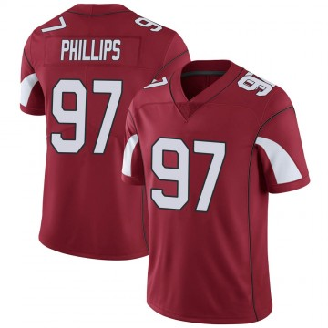 Youth Nike Arizona Cardinals Jordan Phillips Cardinal Team Color Vapor Untouchable Jersey - Limited