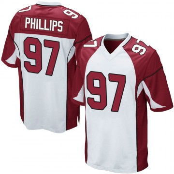Youth Nike Arizona Cardinals Jordan Phillips White Jersey - Game