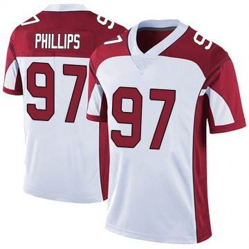Youth Nike Arizona Cardinals Jordan Phillips White Vapor Untouchable Jersey - Limited