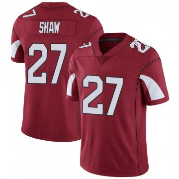 Youth Nike Arizona Cardinals Josh Shaw Cardinal Team Color Vapor Untouchable Jersey - Limited