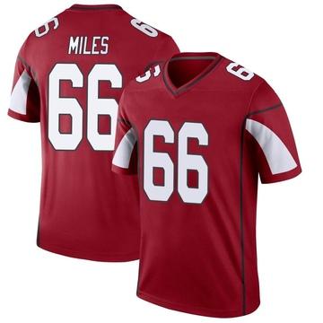 Youth Nike Arizona Cardinals Joshua Miles Cardinal Jersey - Legend