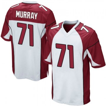 Youth Nike Arizona Cardinals Justin Murray White Jersey - Game