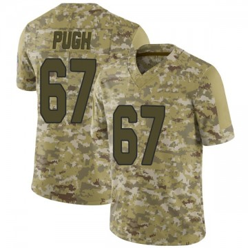 Youth Nike Arizona Cardinals Justin Pugh Camo 2018 Salute to Service Jersey - Limited