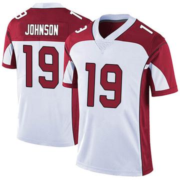 Youth Nike Arizona Cardinals KeeSean Johnson White Vapor Untouchable Jersey - Limited