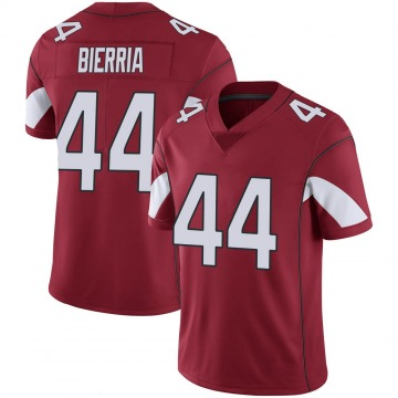 Youth Nike Arizona Cardinals Keishawn Bierria Cardinal 100th Vapor Jersey - Limited