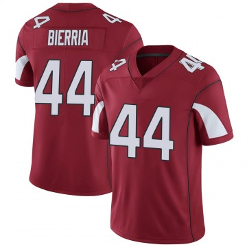 Youth Nike Arizona Cardinals Keishawn Bierria Cardinal Team Color Vapor Untouchable Jersey - Limited
