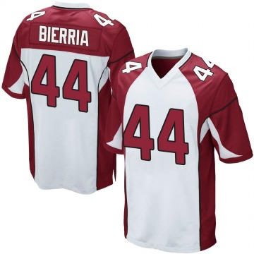 Youth Nike Arizona Cardinals Keishawn Bierria White Jersey - Game