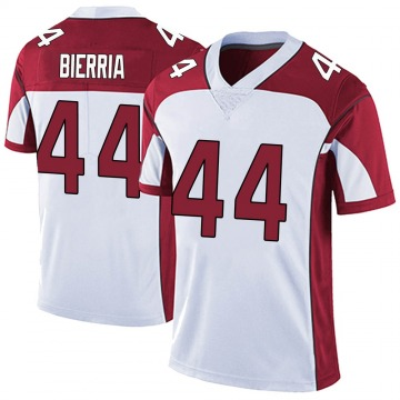 Youth Nike Arizona Cardinals Keishawn Bierria White Vapor Untouchable Jersey - Limited