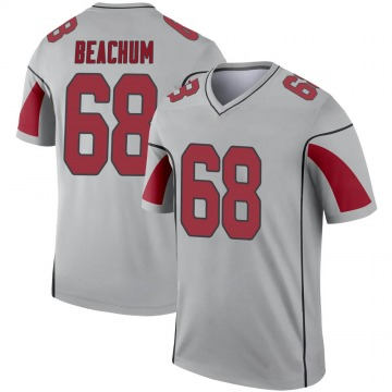 Youth Nike Arizona Cardinals Kelvin Beachum Inverted Silver Jersey - Legend