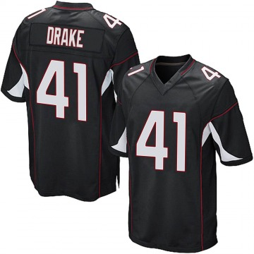 Youth Nike Arizona Cardinals Kenyan Drake Black Alternate Jersey - Game