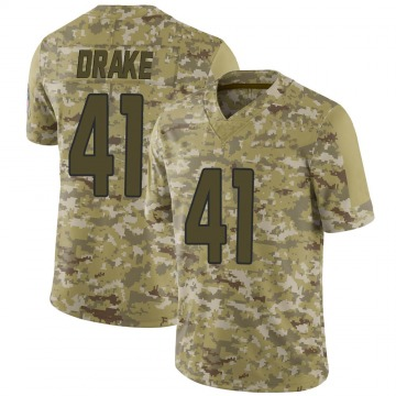 Youth Nike Arizona Cardinals Kenyan Drake Camo 2018 Salute to Service Jersey - Limited