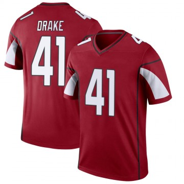 Youth Nike Arizona Cardinals Kenyan Drake Cardinal Jersey - Legend