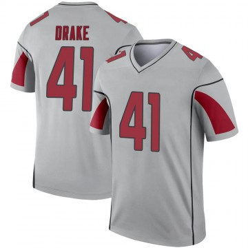 Youth Nike Arizona Cardinals Kenyan Drake Inverted Silver Jersey - Legend