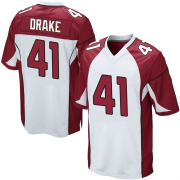 Youth Nike Arizona Cardinals Kenyan Drake White Jersey - Game