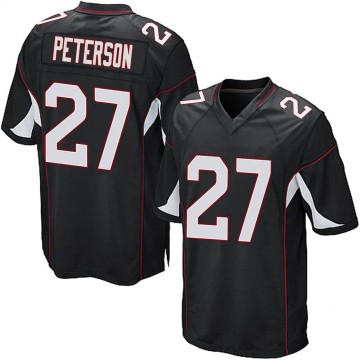 Youth Nike Arizona Cardinals Kevin Peterson Black Alternate Jersey - Game