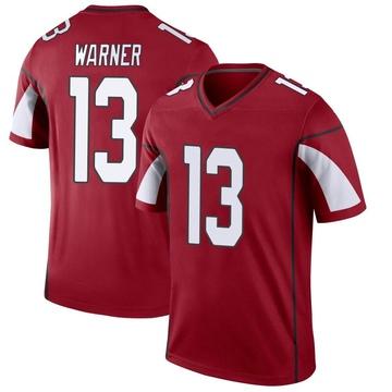 Youth Nike Arizona Cardinals Kurt Warner Cardinal Jersey - Legend