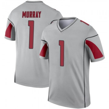Youth Nike Arizona Cardinals Kyler Murray Inverted Silver Jersey - Legend
