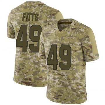 Youth Nike Arizona Cardinals Kylie Fitts Camo 2018 Salute to Service Jersey - Limited