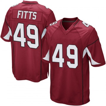 Youth Nike Arizona Cardinals Kylie Fitts Cardinal Team Color Jersey - Game