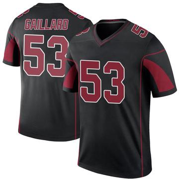 Youth Nike Arizona Cardinals Lamont Gaillard Black Color Rush Jersey - Legend