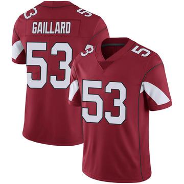 Youth Nike Arizona Cardinals Lamont Gaillard Cardinal 100th Vapor Jersey - Limited