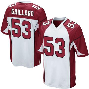 Youth Nike Arizona Cardinals Lamont Gaillard White Jersey - Game