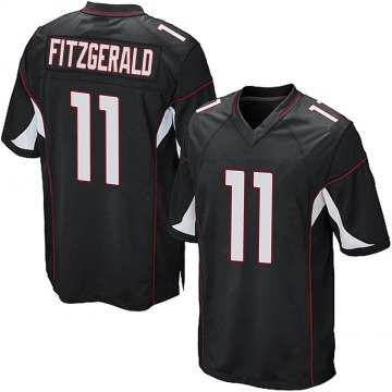 Youth Nike Arizona Cardinals Larry Fitzgerald Black Alternate Jersey - Game