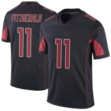 Youth Nike Arizona Cardinals Larry Fitzgerald Black Color Rush Vapor Untouchable Jersey - Limited