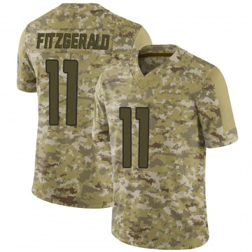 Youth Nike Arizona Cardinals Larry Fitzgerald Camo 2018 Salute to Service Jersey - Limited